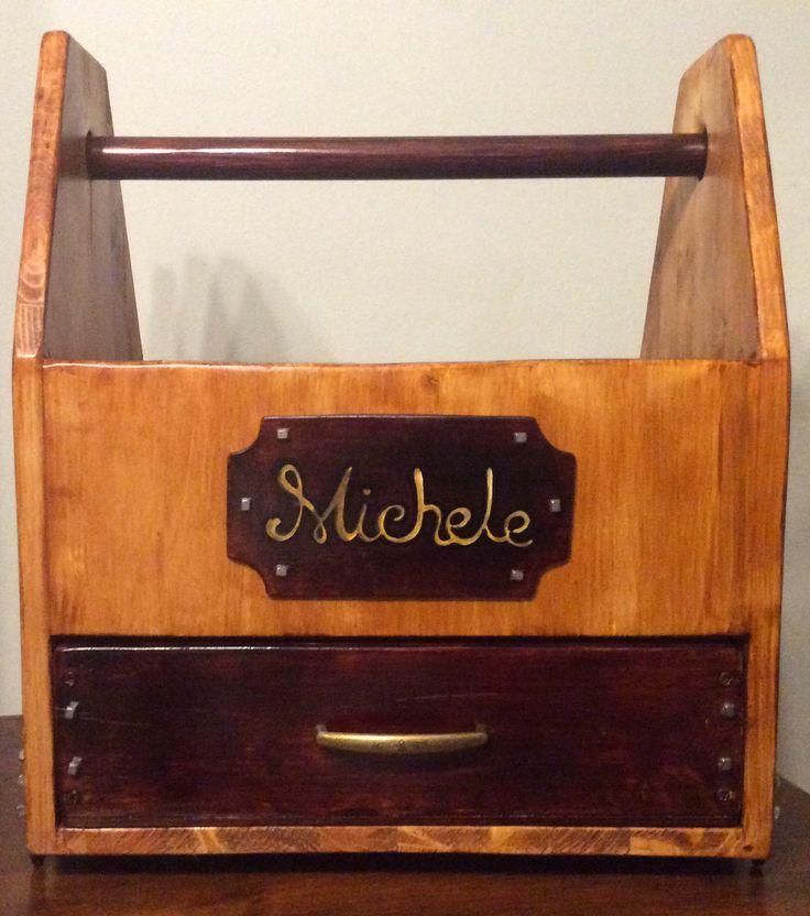 Cassetta portaoggetti equitazione in stile Sweet Iron Italy