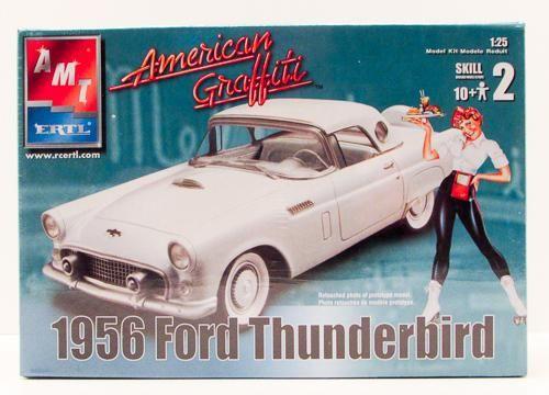 AMT ERTL American Graffiti 1956 Ford Thunderbird 1/25 31966 Plastic Model Kit