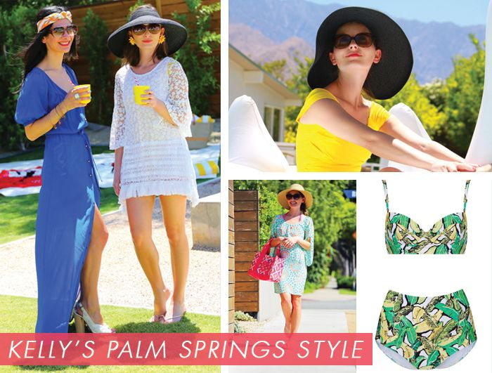 I HEART PALM SPRINGS WITH KELLY LEE OF KELLY GOLIGHTLY | Palm Springs Style Fashion