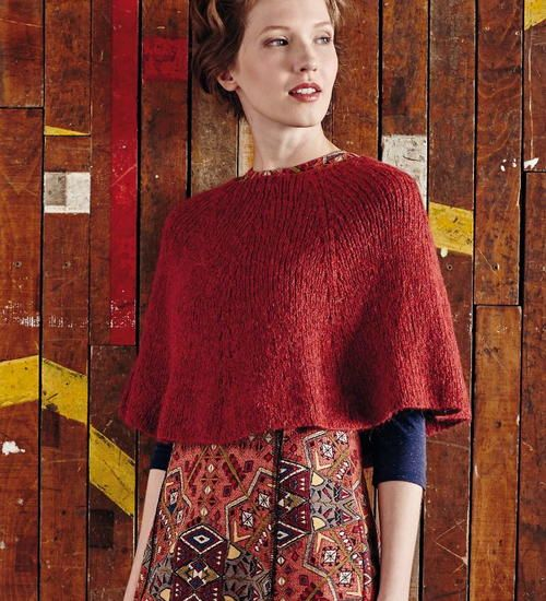 If standard knitted poncho patterns are too big and bulky for you, you'll love the delicate simplicity of this Land of the Rising Sun Poncho. It's shorter and thinner than most ponchos out there, which is perfect for warmer days or lighter layers. This knitted poncho is made using a ridiculously soft merino and alpaca yarn that will feel like butter on your fingers. You'll probably be sad this easy knit poncho is over, but at least you'll have a super soft accessory to bring with you…