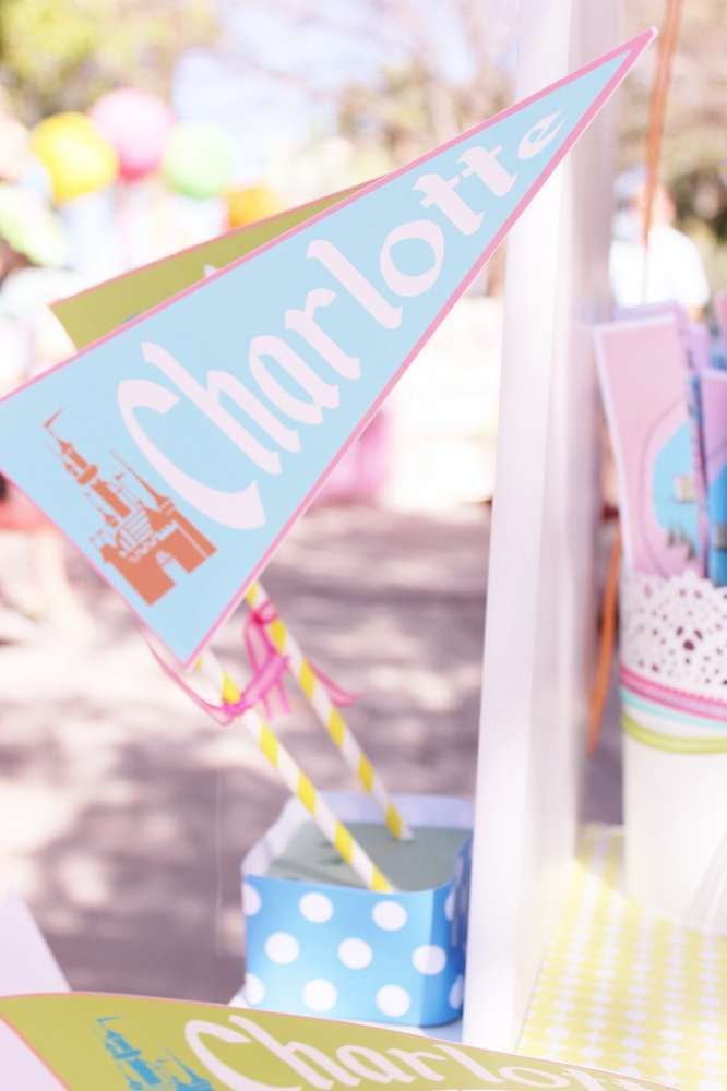 Vintage Disneyland Party | CatchMyParty.com