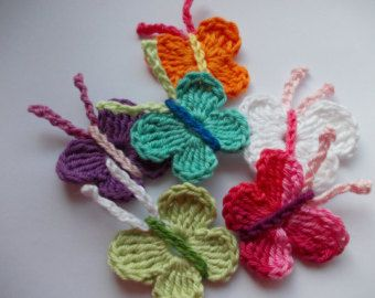 Free Download Crochet Butterfly Pattern : 1000+ ideas about Crochet Butterfly on Pinterest Crochet ...