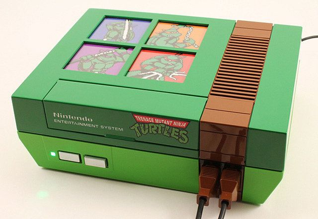 Giggity!  Customized Ninja Turtle NES Is Everything Good in This World