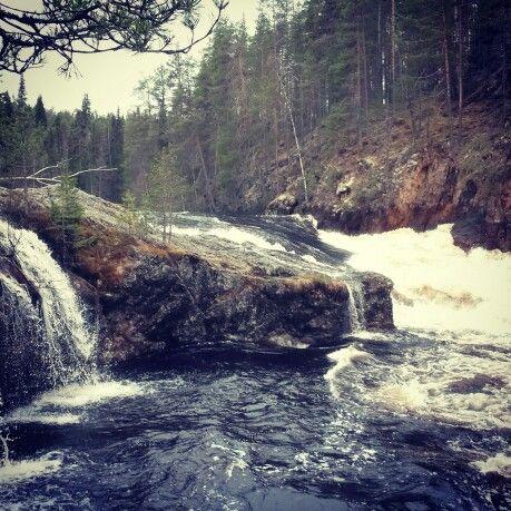 Rapids in Finland.