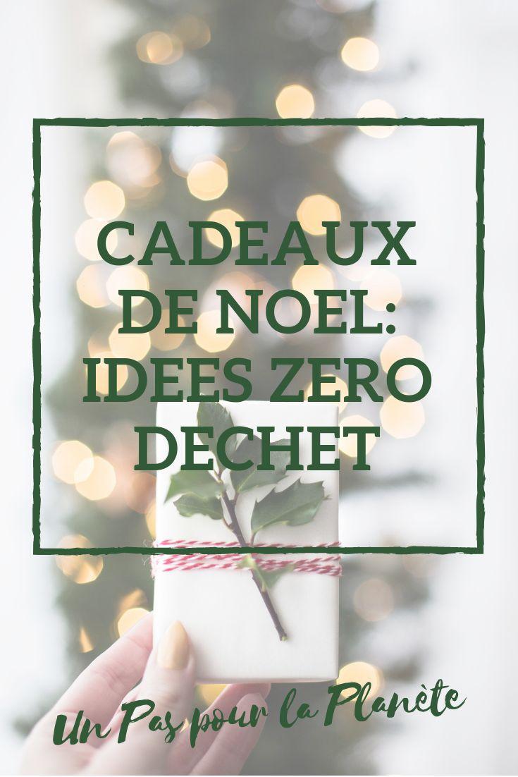 Christmas Gift Ideas Zero Waste  – Cadeaux de Noël ecolo