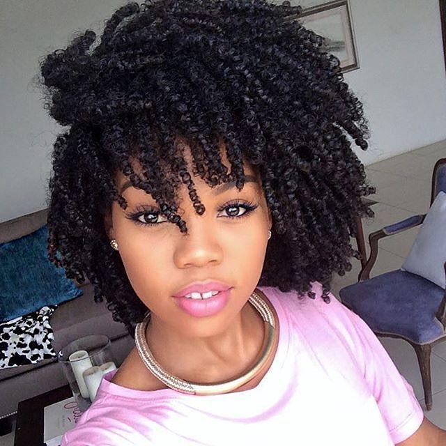 http://www.shorthaircutsforblackwomen.com/hair-steamers-for-natural-hair/ Natural hairstyles after hair steam and cowashing treatment.