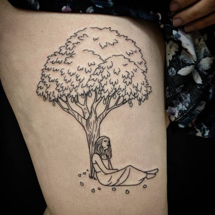Design Based On The Fig Tree From The Bell Jar By Sylvia