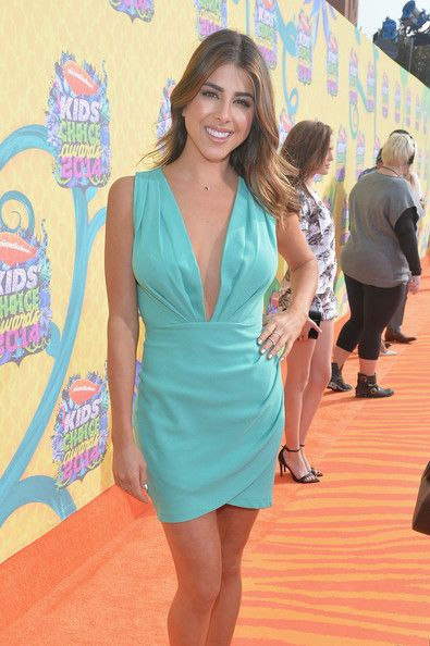 Daniella Monet attends Nickelodeon's 27th Annual Kids' Choice Awards held at USC Galen Center on March 29, 2014 in Los Angeles, California.