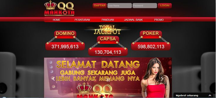 MAHKOTAQQ – Agen Poker Online, DominoQQ Terpercaya