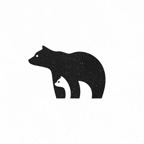 Bears #symbol #mark #logo #logoplace #logoinspirations #bears #logoroom #logothorns #logodesain
