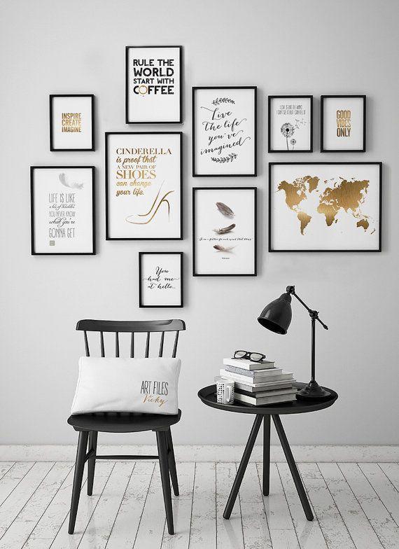 Die besten 25+ Wandfarbe gold Ideen auf Pinterest Goldwände