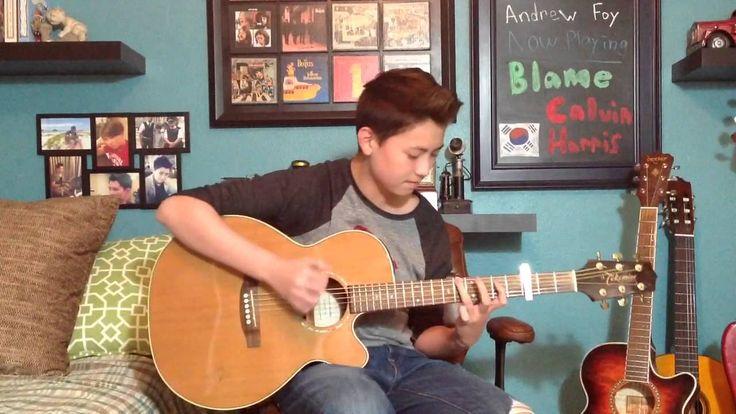 Blame cover na gitarze