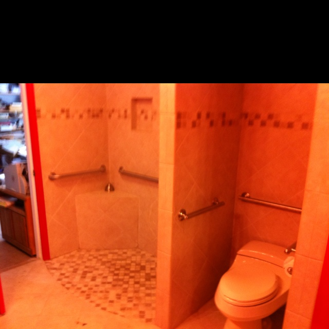 Recently completed bathroom remodel in houston tx for Bathroom remodel 77084
