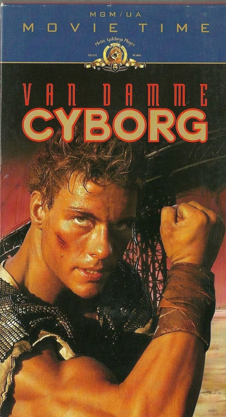 Cyborg Vhs Jean Claude Van Damme Jean Claude Van Damme Van Damme Jcvd Movies