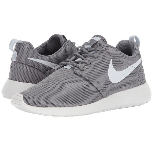 da0e3f9d7160 Nike Roshe One (Cool Grey Pure Platinum Summit White) Women s Shoes ( 75) ❤  liked on Polyvore featuring shoes