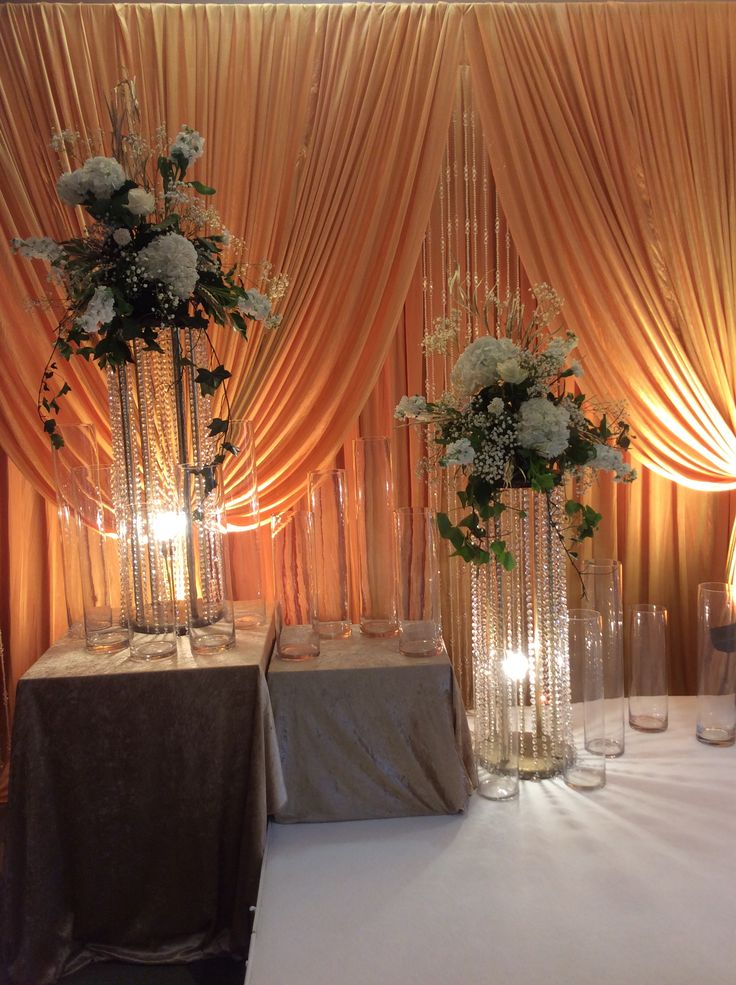 Stage flowers by cathey's flowers