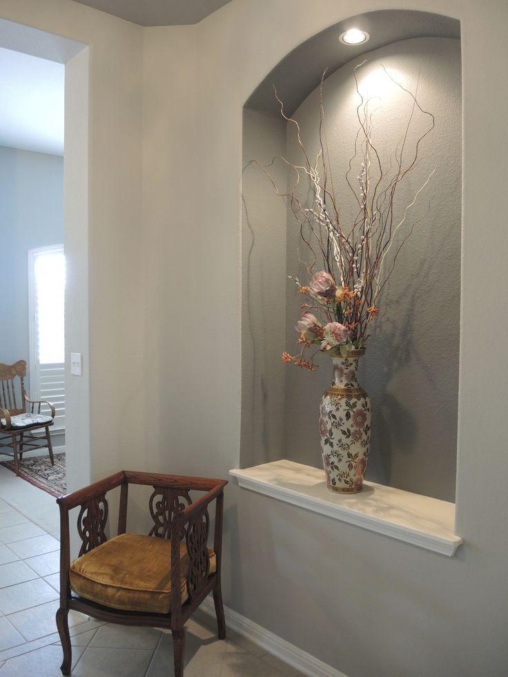 Entire Niche Painted In 2019 Alcove Decor Home Decor
