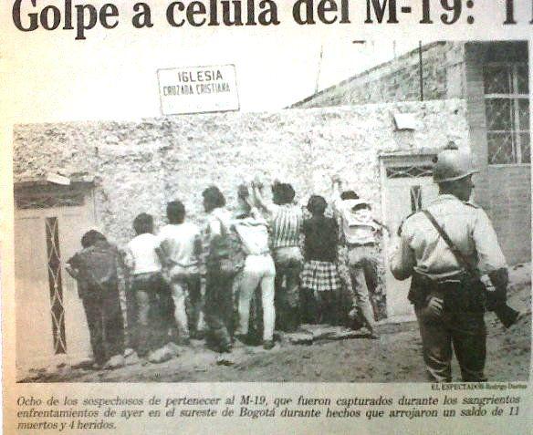 guerrilleros detenidos
