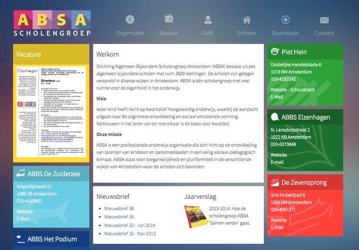 Onderwijs - www.absascholengroep.nl