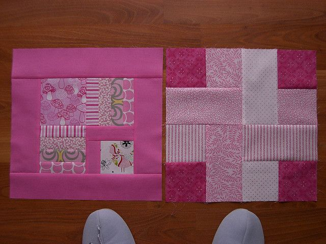 Breast Cancer Awareness quilt blocks by Marblesbestfriend, via Flickr quilts Pinterest ...