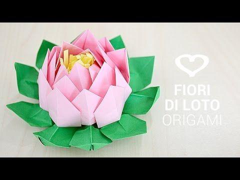 Tutorial: Come realizzare un fiore di loto origami - La Figurina