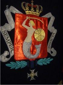 haftowany Herb Wielki Warszawy