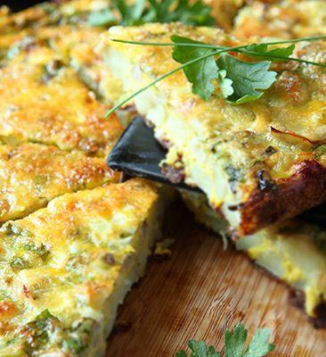 """Slaný, zemiakový, fitness koláč: 12. deň výzvy """"Chudneme jedlom"""" • Akadémia Krásy"""