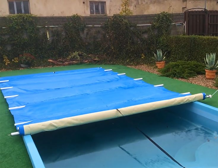 Thehomedweller Pool Cover Solar Pool Cover Cheap Inground Pool