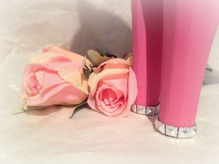 #färg #rosa #häst #dalahäst #bling #inredning #paint #pink #horse #interior #diy #rosor #roses #dalahorse #målat