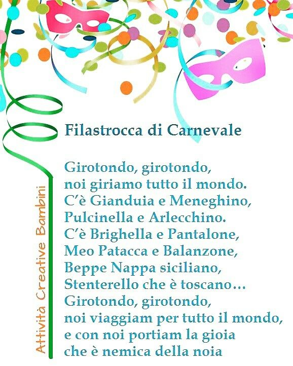 Top 14 best Filastrocche - Girotondi - Canzoni - Poesie images on  VL56