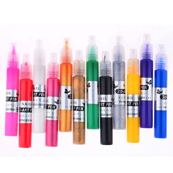 3D Nail Art Pen Set