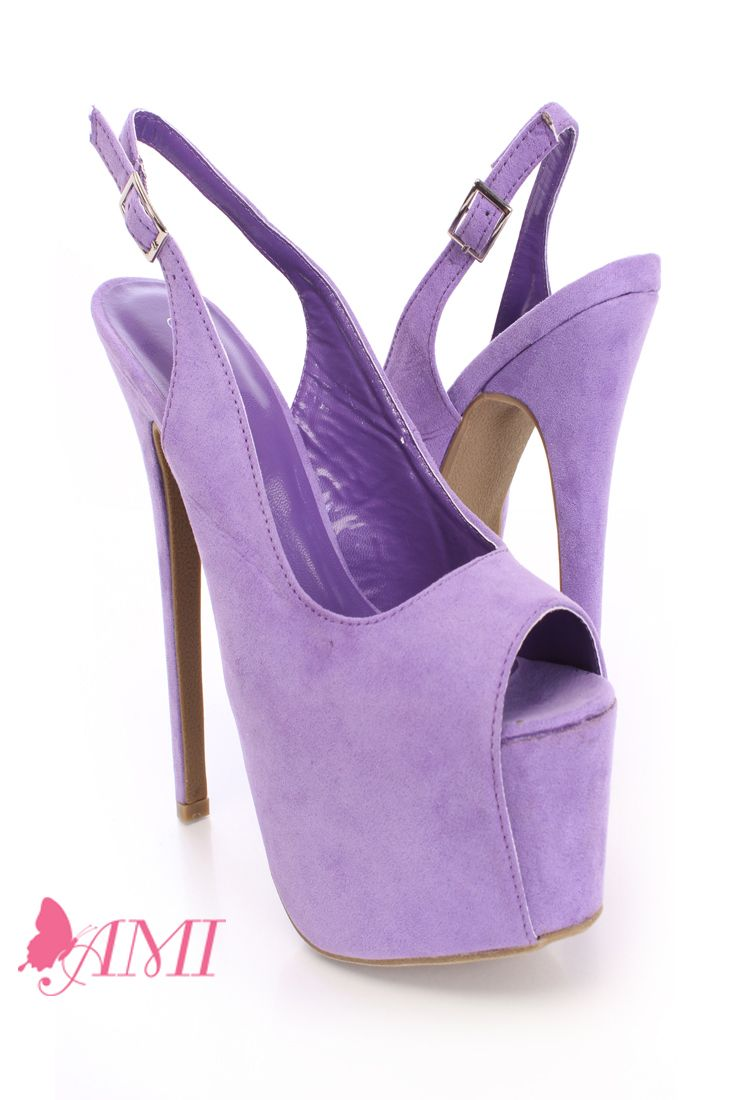Purple 6 Inch Heels