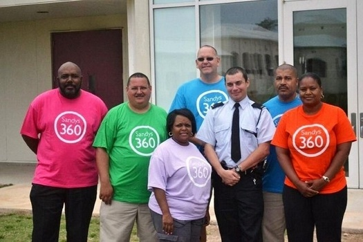 Police volunteers complete million metre row-off | Bermuda News
