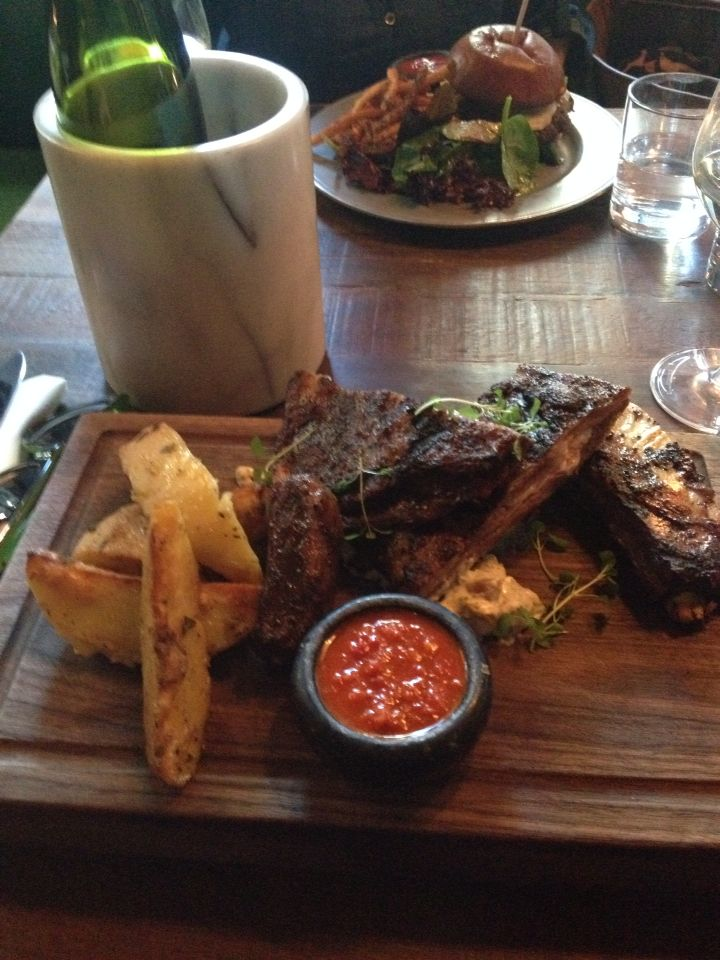 Lamb ribs @ Drake One Fifty! Soooo goood :)