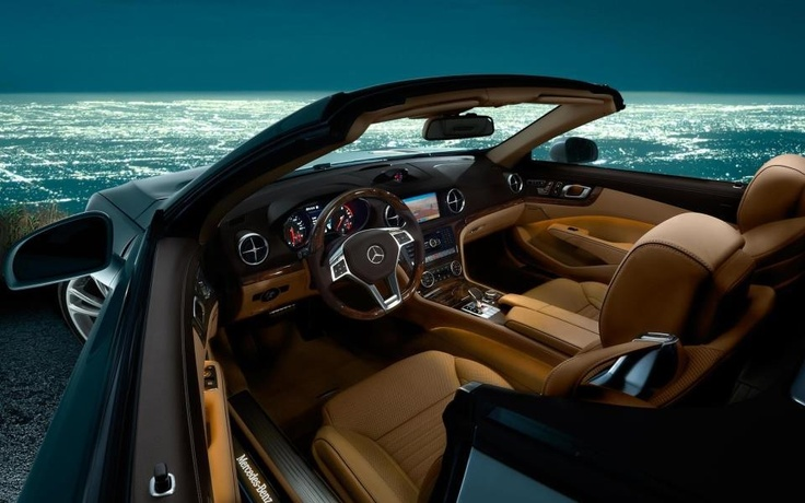 Room with a view... Amazing Mercedes Convertible