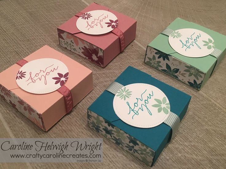 Blooms and Bliss Gift Box - Stampin' Up Customer Thank You Gift