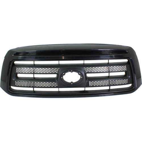 2010-2013 Toyota Tundra Pickup Grille, Painted-Black