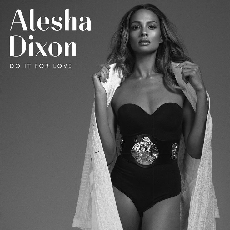 Alesha Dixon: Do it for love, la portada del disco