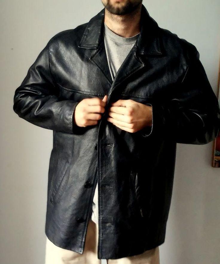 Ben Sherman Mens  Coats & Jackets Leather  Black xxl #BenSherman #BasicCoat#twitter#tumbrl#instagram#avito#ebay#yandex#facebook #whatsapp#google#fashion#icq#skype#dailymail#avito.ru#nytimes #i_love_ny