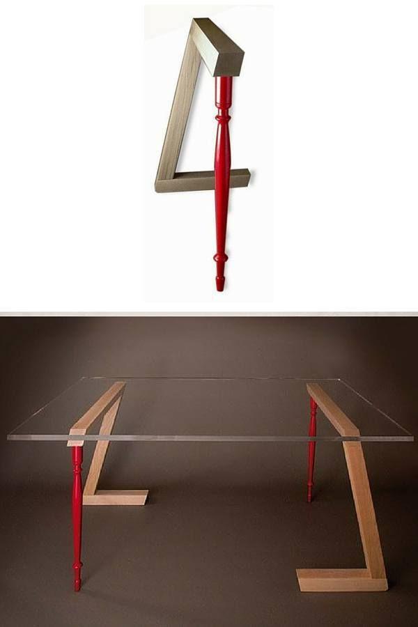 Treteaux Design 21 Idees Pour La Table Ou Le Bureau Treteaux Design Treteaux Decoration Maison