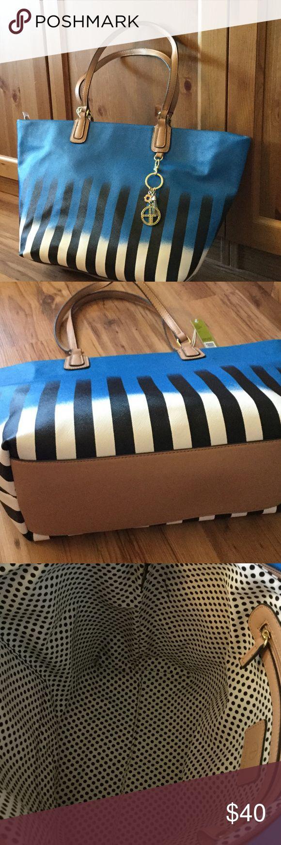 Gianni Bini Handbag Gianni Bini Ombré Stripe Handbag -- New with Tags Gianni Bini Bags
