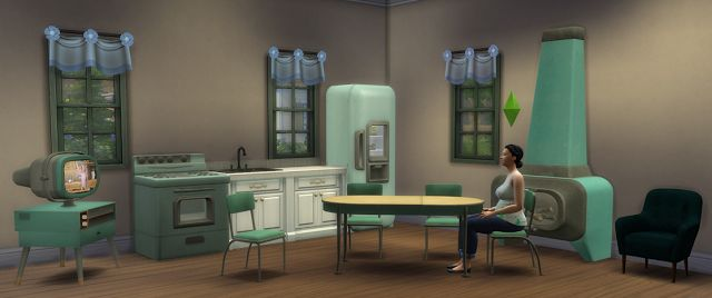 Sims 4 CC's - The Best: Retro Fallout 4 Furnishings by BigUglyHag