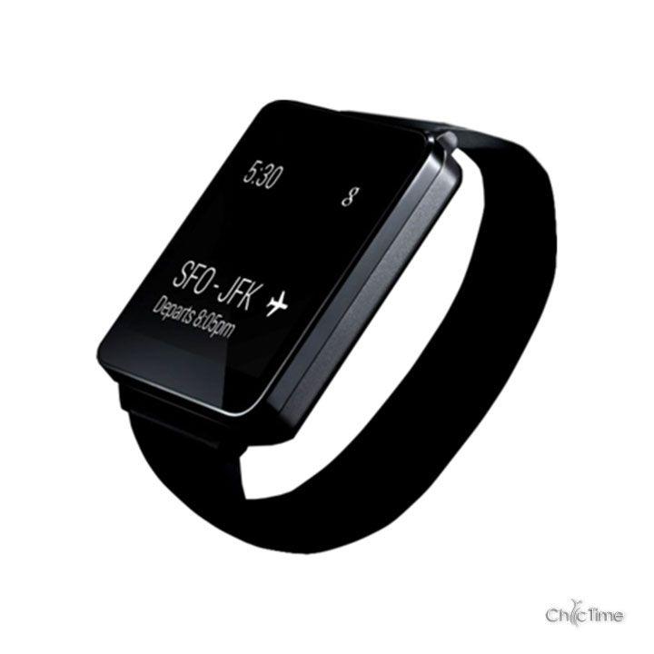 LG présente sa montre connectée : la GWatch. Il s'agit de l'un des premiers modèles de montre intelligente à être révélé. Elle fonctionnera sous l'OS de Google, l'Android Wear. Plus d'infos : http://blog.chic-time.com/montre-connectee-google-os-android-wear/
