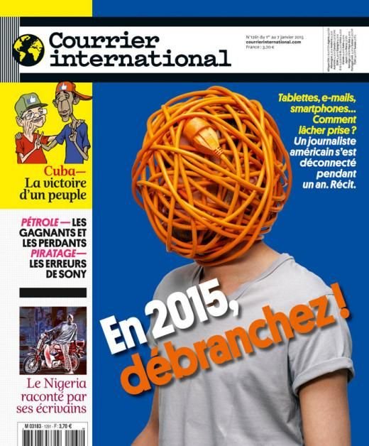 Courrier international 1261, du 1 janvier 2015