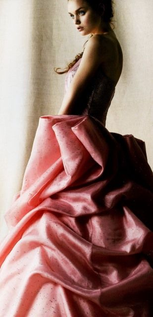 Pink Ruche Dream of a Gown