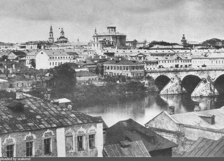 Prereform Moscow 1855.