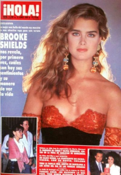 Brooke Shields Vogue Germany March