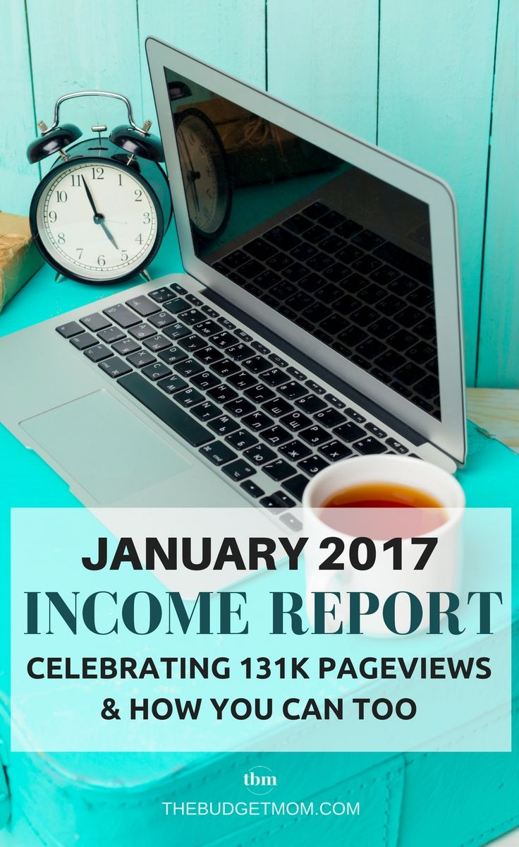 In January, TBM turned 11 months old. Here is how I reached over 131K pageviews and made over $2,300 without ads. Income Report | Blogging | Extra Money | January | 2017 via @thebudgetmom