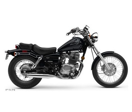 honda 250 Rebel- My first & second motorcycles, both were red