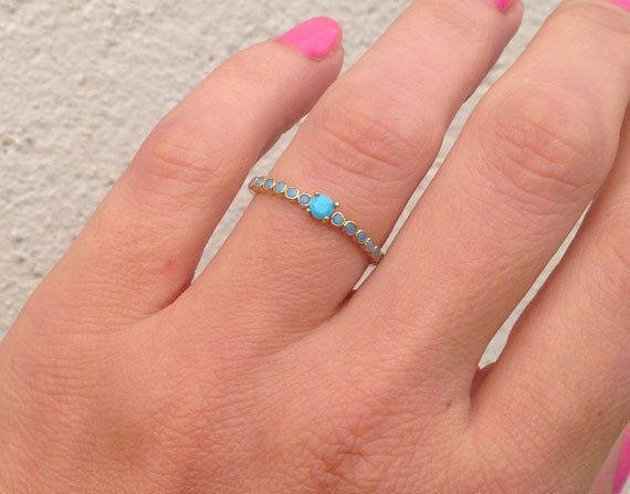 20% off-SALE Turquoise Ring  Sleeping Beauty Turquoise